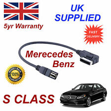 Mercedes Benz S CLASS MP3 MEMORY Stick USB Cable Media Interface