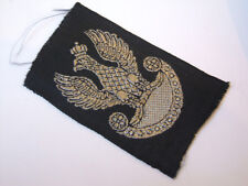 2ww polish national eagle very dark blue RE/RA   beret patch