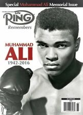 MUHAMMAD ALI SPECIAL MEMORIAL ISSUE THE RING MAGAZINE 2016 NO MAILING LABEL
