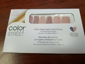 Color Street All Wild Up 100% Nail Polish Strips New Sealed Package