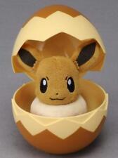 Takara Tomy Pokemon Egg Plush Eevee Toy