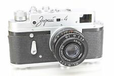 Zorki 4 Original Rangefinder Camera (based on Leica) With Industar 50mm/3.5 Lens