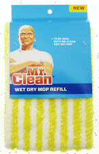 Mr. Clean Wet Dry Mop Head Refill Clean Cleaning Supplies Refills ~ Yellow