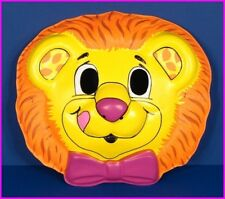 * Lucky Lemon Lion Halloween Adult Costume Mask by Hallmark Yum Yum 1989 NEW *