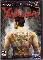 Yakuza 1 - Original Black Label - PlayStation 2 PS2 [Video Game One] Brand New