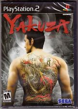 Yakuza 1 - Original Black Label [PlayStation 2 PS2, NTSC, Y-Fold, Action Fight]