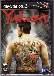 Yakuza 1 - Original Black Label - PlayStation 2 PS2 [Video Game One] Brand New