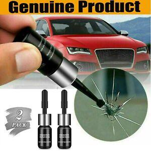 New 2x Automotive Glass Nano Repair Fluid Auto Front Car Windshield Crack Repair