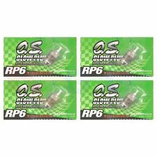 4PCS OS GLOW PLUG RP6 TURBO MEDIUM ON-ROAD # OS71642060 O.S. Engines Parts