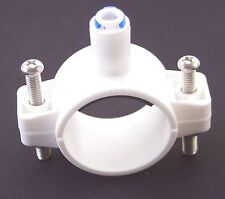 """1/4"""" Tube Drain Clamp 40mm Saddle Valve Clips Drinking water Filter RO system"""