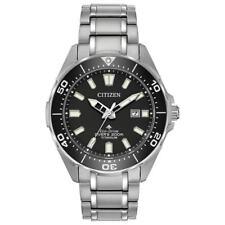 New Citizen Eco-Drive Promaster Titanium Men's Dive Watch BN0200-56E