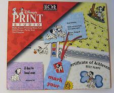 Disney's 101 Dalmatians Print Studio CD ROM Software Banners Calendars Cards