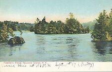 THOUSAND ISLANDS NY – Fiddler's Elbow – udb (pre 1908)