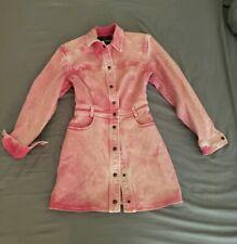 Roberto Cavalli pink Denim Dress