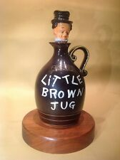 Rare Vintage Little Brown Jug With Music Box In Bottom