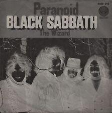 "BLACK SABBATH: Paranoid (´70 / German VERTIGO ""swirl"" 7"" - v. rare 2nd p/s)"