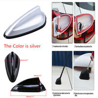 Durable Shark Fin Auto Car Roof Antenna Aerial Strong Receive FM AM Radio Signal