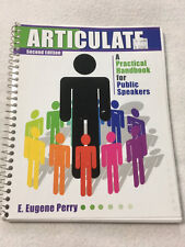 Articulate E. Eugene Perry Second Edition A Handbook For Public Speakers