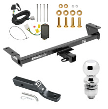 """Trailer Tow Hitch For 16-18 Lexus RX350 RX450h Complete Package Wiring & 2"""" Ball"""