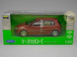 Volkswagen Golf V - Welly 1:24 - WE22458RE