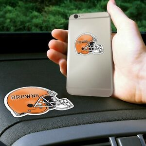 Fanmats NFL Cleveland Browns Get a Grip Cell Phone Grip Thick Polymer Stickers