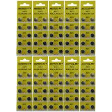 Ships From Usa On Retail Cards Motobatt 100 Ag13 Lr44 L1154 357 A76 Battery