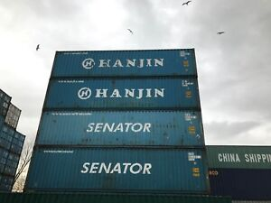 Used 40ft container for sale Birmingham - ideal as storage containers