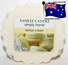 YANKEE CANDLE Tart Melt * Lemon Cream * FREE Postage for ADDITIONAL TARTS