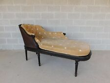 Antique French Louis Xvi Style Chaise Lounge Fainting Sofa