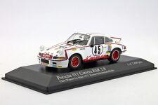 PORSCHE 911 CARRERA RSR 2.8 #45 LE MANS 1973 KREMER KELLER SCHICKENTANZ MINICHAM