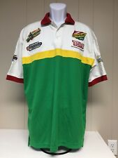 Roshfrans Speed Racing Polo Rugby Golf Shirt Mens XL Teckfill Embroidered Nascar