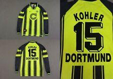 BVB Champions League 1996-97 Nike BVB Borussia Dortmund Kohler 15 Größe XS, XL. B