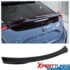 Fits 17-20 Honda Civic X 10th Gen Hatchback 5-Door V Style Trunk Spoiler