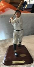 Babe Ruth New York Yankee Figurine Danbury Mint Cooperstown Collection
