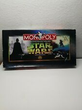 Monopoly Star Wars Classic Trilogy Edition Board Game Parker Brothers 1997