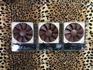 Noctua NF- P12 x 25 pwm fans