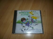 Francesca Simon.Horrid Henry and the Football Fiend.Audio book cd.Post next day