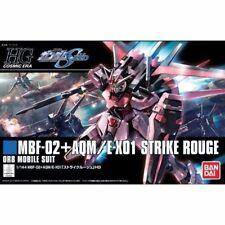 BANDAI HGCE 1/144 MBF-2 AQM/E-X01 STRIKE ROUGE Plastic Model Kit Gundam SEED
