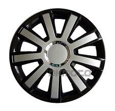 15'' Wheel trims Hub Cups fits  Mini ONE  4 x 15'' black - silver