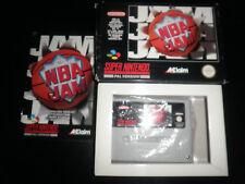 Super Nintendo, Snes - nba jam - 100% boxed