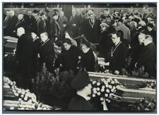 Allemagne, Munich, Cérémonie en mémoire des victimes de la catastrophe aérienne,