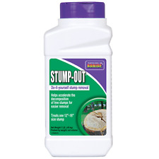 Bonide Bnd272 Ready to Use Easy Chemical Remover for Old Tree Stumps, 1 Lb,