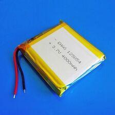 Batteria 3.7V 4000mAh Li Po Polimeri di Litio Per sistemi GPS Registratori Cam