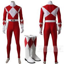 Power Rangers Zyuranger Geki Cosplay Tyranno Ranger Cosplay Costume All Size
