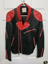 Ultra Rare Vintage 1980s Red Leather Jacket (J. Park)