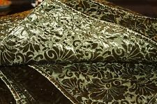 3 Piece SET - Green Pottery Barn Bed & Bath Queen Quilt & (2) Euro Shams