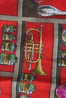 Messori Made Italy WILD Music Shelf Artwork CAMP SHIRT Medium Short LENGHTH 28 m