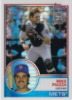 2018 TOPPS SILVER PACKS MIKE PIAZZA NEW YORK METS DODGERS - B228