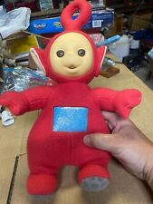 Vintage 1998 Playskool Red Teletubbies PO Talking Plush Toy WORKS