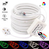 RGB Neon Flex Light 220V-240V LED Rope Light 10x18mm IP67 Waterproof Outdoor Use